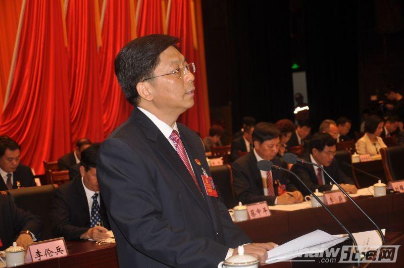 中国共产党北海市第十一次代表大会开幕,王可书记作报告